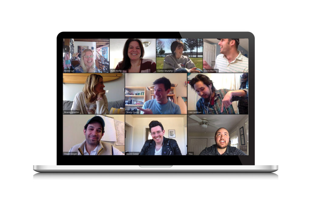 Dirigo Collective Team image of a video chat
